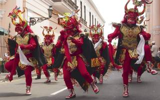 how to dance with the devils  in peru