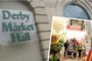 Derby Market Hall death fall: traders send condolences to family