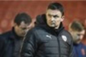 barnsley manager paul heckingbottom now second favourite for...