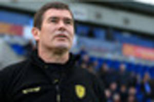 nigel clough being linked with nottingham forest job is pure...