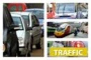 LIVE: Traffic and travel in Stoke-on-Trent, North Staffordshire...
