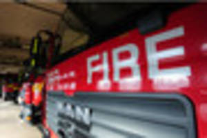 one treated for smoke inhalation after early-morning burry port...
