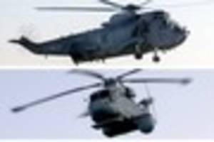 navy at rnas culdrose gets £269 million to replace sea king...