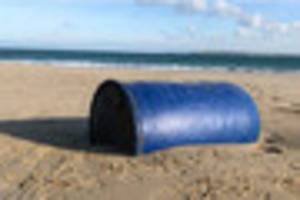 second mystery barrel which sparked health alert found washed up...