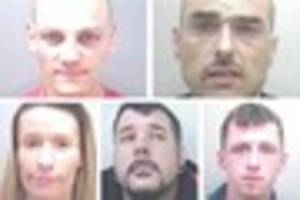 Help needed to find five suspects wanted for range of crimes