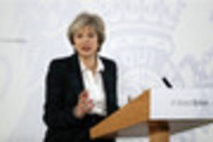 theresa may's landmark speech on nation's future after brexit...
