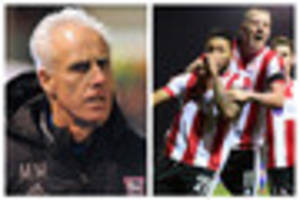 'i am embarrassed' - mick mccarthy on being beaten by lincoln...