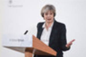 Theresa May's Brexit speech: full transcript as Prime Minister...