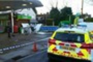 appeal for dash-cam footage after bookham cash machine blown up
