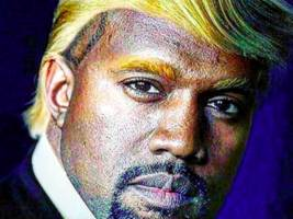 kanye west might not be as down w/ donald trump as everyone thinks