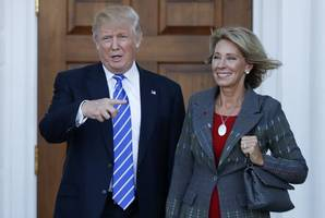 betsy devos emphasizes choice for education in her confirmation hearing