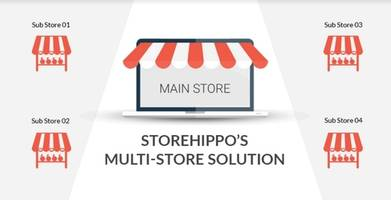 StoreHippo's Multi-Store Feature Enables Enterprises to Operate Multiple Sub-Stores within a Single Portal