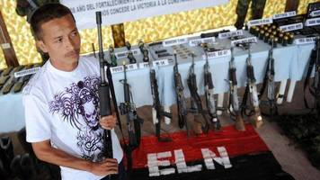 Colombia sets date for peace talks with ELN rebel group