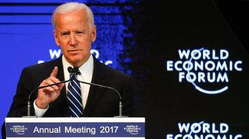Joe Biden tells Davos: Russia 'trying to collapse' liberal order