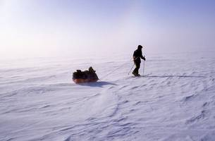 what exactly does it take to ski to the south pole?