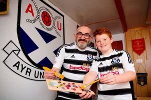 Ayr United ask fans to design new badge - after being told to rip up historic crest