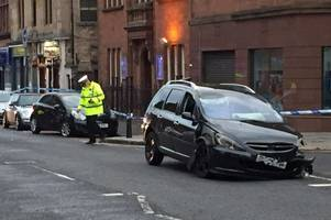 Kilmarnock man admits dangerous driving charge after badly injuring another man on John Finnie Street