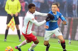 Rangers ace Barrie McKay flattered by Oliver Burke comments but insists he has no plans to leave Ibrox