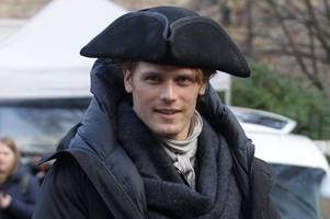A reunion in Edinburgh for Jamie and Claire as Outlander cast and crew film Season 3