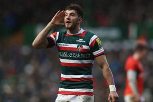leicester fly-half owen williams reacts to 'every kid's dream' wales six nations call-up