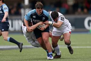 young cardiff blues prop released from hospital after suffering delayed concussion following head injury