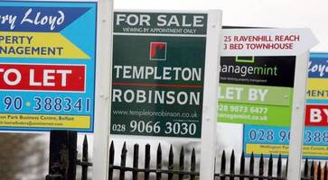 Northern Ireland house price tipped to rise 3% in 2017