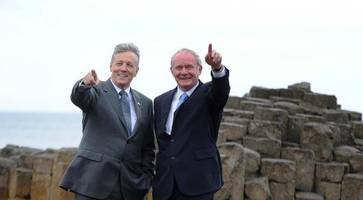 peter robinson praying for martin mcguinness to overcome illness