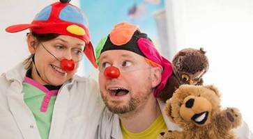 tributes as 'clown doctor' patrick sanders who brought laughter to sick children dies suddenly