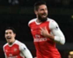 Giroud: How I forced my way back into the Arsenal team