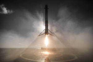 How did SpaceX snap this stunning rocket-landing photo?