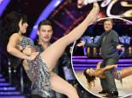 busty daisy lowe joins ed balls for strictly tour