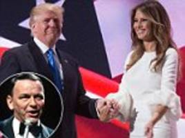 Trump chooses Frank Sinatra's 'My Way' for first dance
