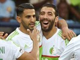algeria and tunisia face derby at africa cup of nations