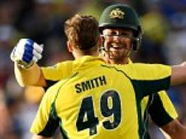australia cruise to victory over pakistan in third odi