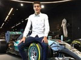mercedes formula one recruit british teen george russell