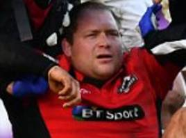 worry over severity of wp nel's neck injury