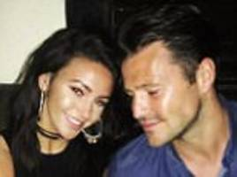 Michelle Keegan and husband Mark Wright share 'tipsy' snap