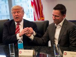 peter thiel might be donald trump's ambassador to germany