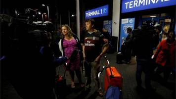 First British holidaymakers return from The Gambia