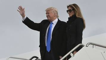 President-elect Trump arrives in Washington