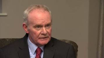 martin mcguinness confirms he will not stand for election
