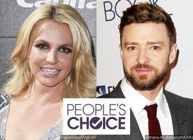 people's choice awards 2017: britney spears and justin timberlake among winners in music