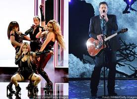 Watch Fifth Harmony and Blake Shelton's Performances at 2017 People's Choice Awards