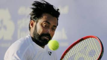 Australian Open: Leander Paes, Andre Sa crash out in first round of men's doubles