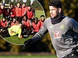 Diego Costa is the centre of attention once again
