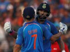 india claim victory over england in second odi