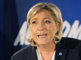 marine le pen leads the race for the french presidency