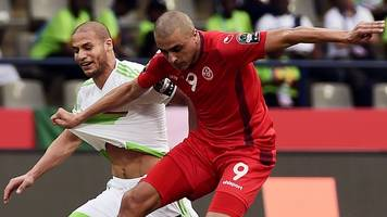 Afcon 2017: Tunisia see off neighbours Algeria