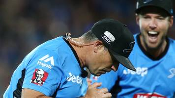 'naughty' big bash on-air chat being investigated