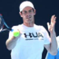 murray moving well in practice after ankle injury scare